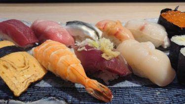 要町の老舗江戸前寿司 「橘寿司」レポ!コスパ良く旨い寿司を食べよう