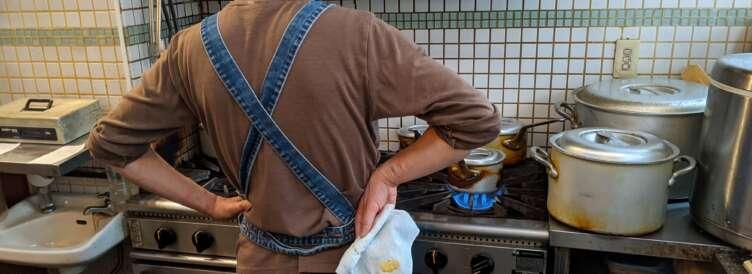 かえる食堂の調理工程