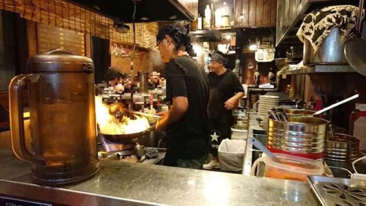 北海道ラーメン「ひむろ」の店内