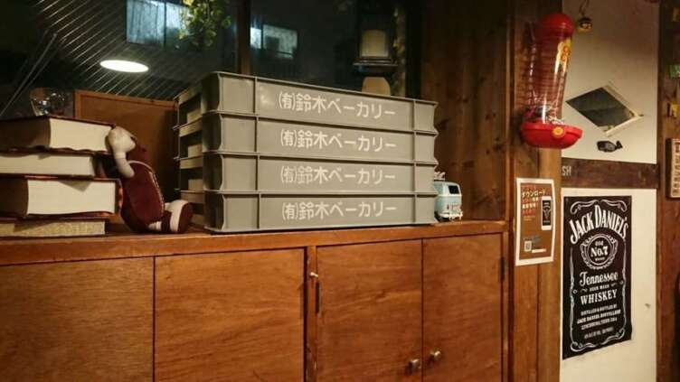鈴木ベーカリーの箱