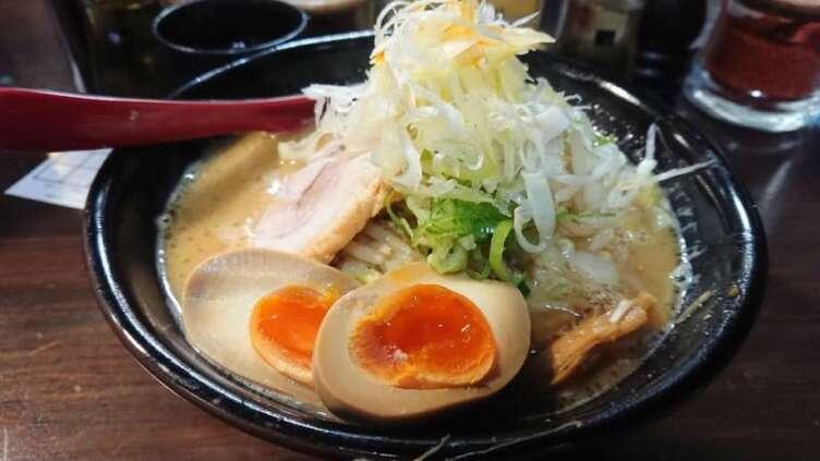 麺処花田の味噌ラーメン