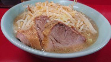 歌舞伎町の深夜営業ラーメン二郎!つけ麺もたべられる直系店