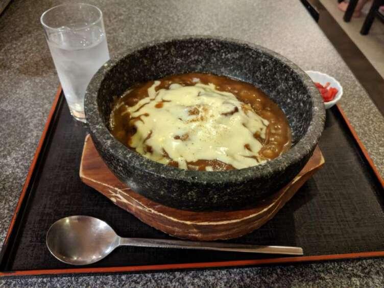 石焼きチーズカレー