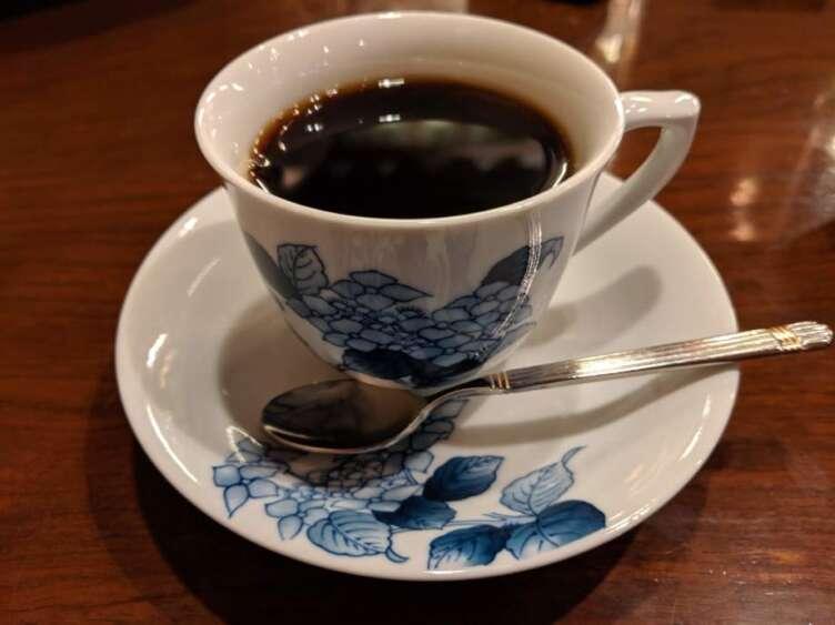 あおいブレンドのコーヒー