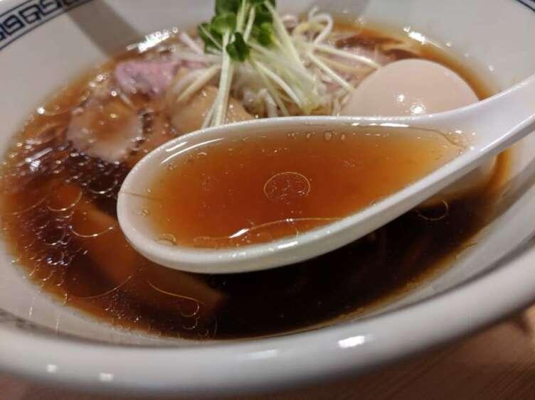 ます田の中華そばスープ