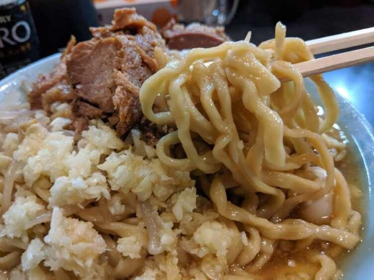 自家製麺No11の麺