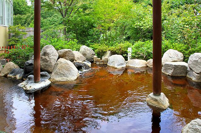 庭の湯の温泉