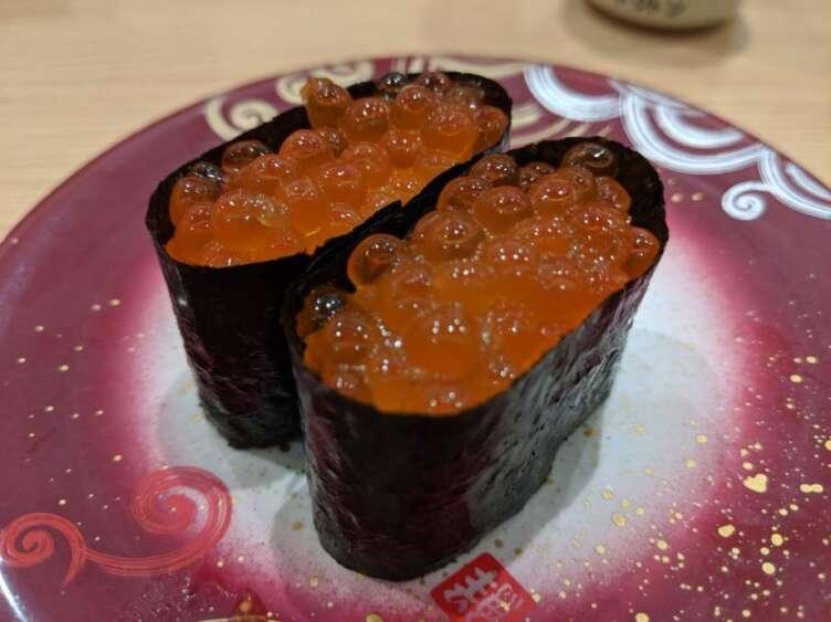 イクラの寿司