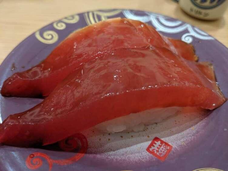 ヅケマグロの寿司