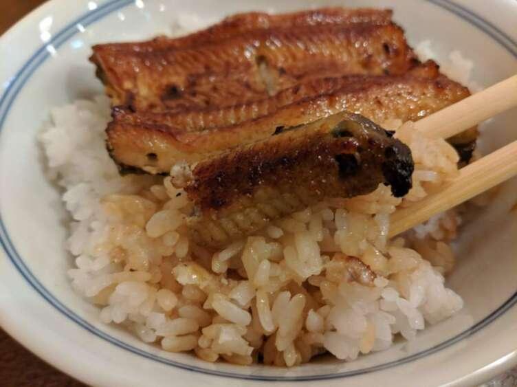 鰻丼のご飯