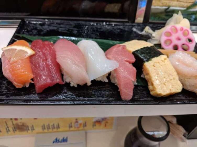 すしつねのランチ寿司セット