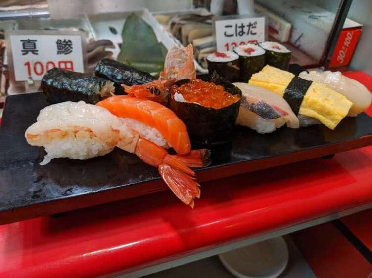 立喰さくら寿司の3番ランチセット