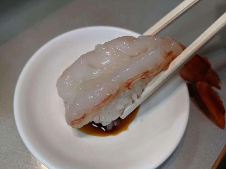 車えびのお寿司
