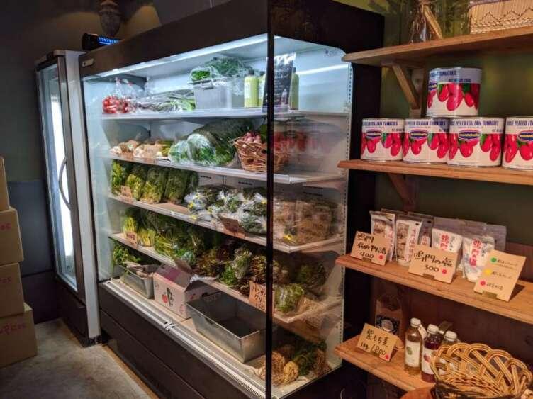 ジンジャーの野菜売り場
