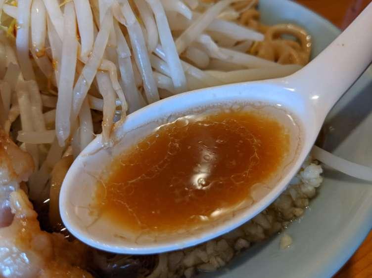 ラーメン慶次郎のスープ