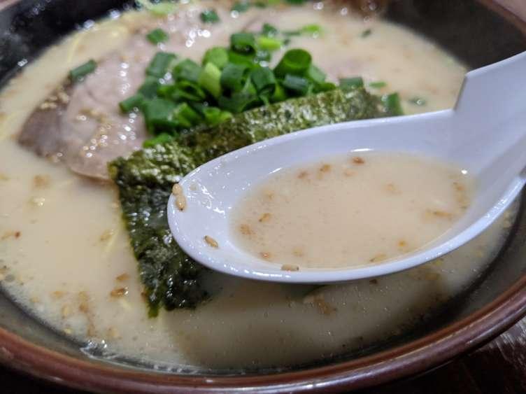 『長浜や』のスープ
