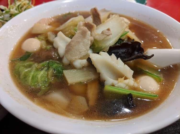 海鮮五目刀削麺