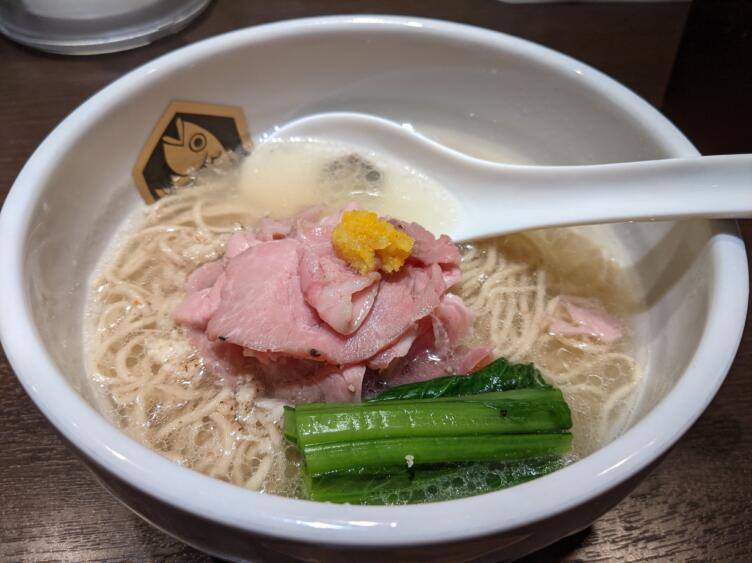 麺魚の真鯛ラーメン