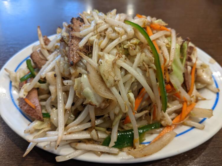 野菜レバー炒め